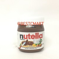 Jual NUTELLA FERRERO HAZELNUT SPREAD WITH COCOA 350GR Murah