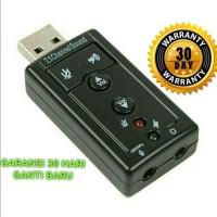 Soundcard USB Channel 7.1 / Sound Card USB Mini 7.1 Chanel