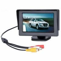 Car Monitor 4.3 Inch TFT LCD, untuk DVD, CCTV, Kamera Parkir Mobil