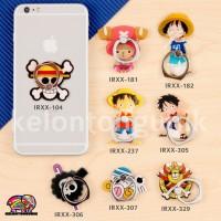 Jual One Piece iRing/ Ring Holder/ Cincin HP / Ring Stand Karakter Seri 28 Murah