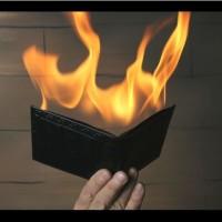 Alat Sulap - Dompet Api / Fire Wallet