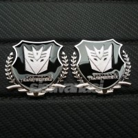 Jual Emblem Transformers Shield (Decepticon) Diskon Murah