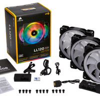 Fan Casing CORSAIR LL120 RGB Three Pack With Lighting Node PRO 12CM