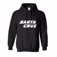Jual Hoodie Santa Cruz - Hitam  Murah