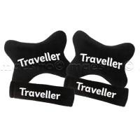 Bantal Mobil Set Murah 2in1 Traveller