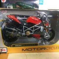 Jual diecast motor ducati street fighter 1/12 maisto Murah