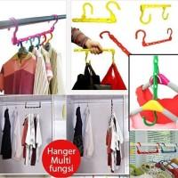 Jual Promo Colorfull Wonder Hanger Magic gantungan baju lemari pakaian Murah