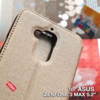 Asus Zenfone 3 Max ZC520TL Leather Flip Case Flipcover casing bumper