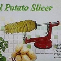 Jual READY ! alat pemotong kentang bentuk spiral mesin potong kentang ulir Murah