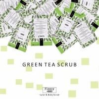 Jual GREEN TEA FLEECY FACE BODY SCRUB Murah