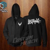 jaket sweater hoodie zipper  maverick logang logan paul Warung Kaos