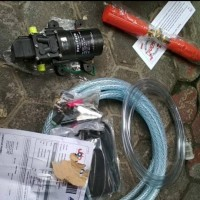 Set Lengkap Mesin Power Sprayer Alat Cuci Motor Mobil Steam