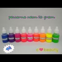 Pewarna neon 10gr - Slime, Sablon, Fluorescent, Murah