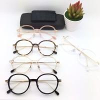 Frame Kacamata Minus Coach Watson Pria Wanita Hitam