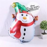 Balon Foil SNOWMAN / Balon Natal / Balon xmas / balon boneka salju