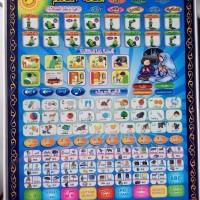 Jual Playpad Muslim Belajar 4 Bahasa Mainan Edukatif Anak Belajar Murah