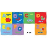 Jual Evamat Gambar Huruf 26 Pcs karpet Puzzle Mainan Anak Berhitung Murah