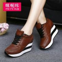 Real Pic sepatu/sandal SEPATU BOOT BOWLING COKLAT murah