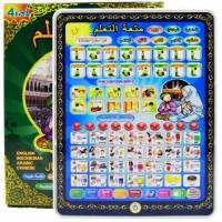 Jual Mainan Edukasi Anak Playpad Muslim / Ipad Muslim 4 Bahasa Lampu Led Murah