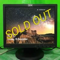 LCD Monitor Komputer Lenovo 15inch Square 9165