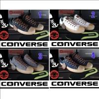 SEPATU CONVERSE ALL STAR LOW/OX MONOBLACK + BOX GRADE ORI