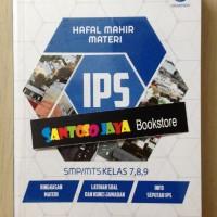 Hafal Mahir Materi IPS SMP/Mts Kelas 7, 8, 9 oleh Santi Sari Dewi