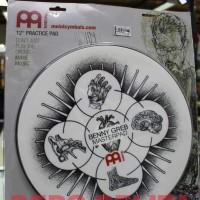 MEINL MPP-12-BG Practice Pad Benny Greb 12 inch / Pad Drum