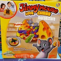 Family Game Jimmy Mouse Love cheese model uno / jenga