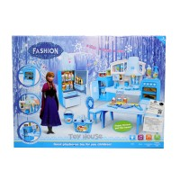 Jual BEST SELLLER Cook Fun Kitchen Frozen With Doll Besar SY203075 Mainan Murah