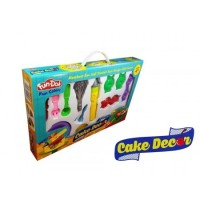 Jual BEST SELLLER Mainan Anak Perempuan Fun Doh Cake Decor Mainan Lilin Murah