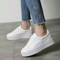Jual Sepatu Cewek Keta  Putih 16 Murah