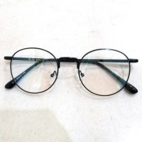Jual NEW frame bingkai kacamata korea bulat free lensa untuk pria dan wani Murah