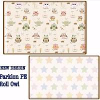 Jual NEW Karpet bayi PARKLON Korea OWL Baby Playmat PE Roll play mat alas Murah