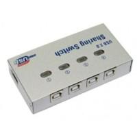 Jual SUPER Dijamin Auto Switch Printer 4 Port Usb Sharing Switcher 1 4 AIF Murah