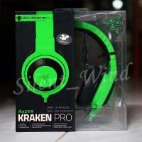 Jual NEW Razer Kraken Pro gaming music headset GREEN AIF612 Murah