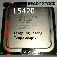 Processor CPu intel Xeon L5420 Processor LGA 775 (Q9550 Core 2 Quad)