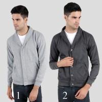 Jual jaket sweater blazer Fleece simple polos banyak pilihan warna Murah