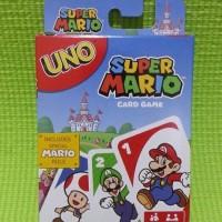 Jual Kartu UNO Super Mario Original by Mattel Murah