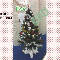 Jual NATAL/ Pohon Natal Tinggi : 90cm PVC Tebal ( Kode : P-003 ) /TERLARIS Murah