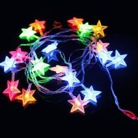 Jual NATAL/ LAMPU LED BINTANG 5 M POHON NATAL CHRISTMAS TREE STAR LIGHT Murah