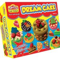 Jual Lilin Mainan Fun Doh Dream Cake Murah