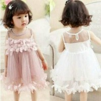 Dress Flower tutu/Dress import anak/gaun anak