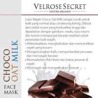 Jual (Dijamin) Nature Organic - Lulur Wajah Choco Oat Milk 250gr Murah