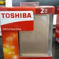Jual Hardisk Toshiba Canvio Alumy 3.0 Portable Hard Drive 2Tb - Gold Murah