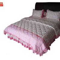 SORAYA Bedsheet - Sprei Rimpel + Bed Cover Sanice
