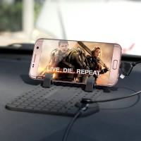 Jual Car Holder Super Flexible   Magnetic Charging - Dashboard Mat Murah