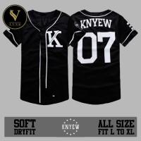 Jersey Baseball / Baju Hip hop / Baju Baseball KNYEW