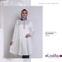 Baju Atasan Wanita TUNIK BIS ZIPPER SN by elzatta