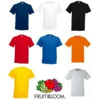 Jual Kaos Import Fruit of The Loom Premium Polos Original Baju Grosir Murah Murah