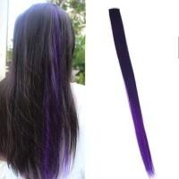 Jual Ombre Gradient Wig Hair Clip 2 Gradient Dark Purple / Rambut Palsu Murah